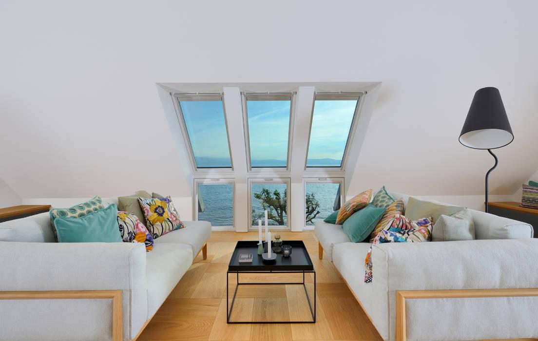 Study/office by Bau-Fritz GmbH & Co. KG