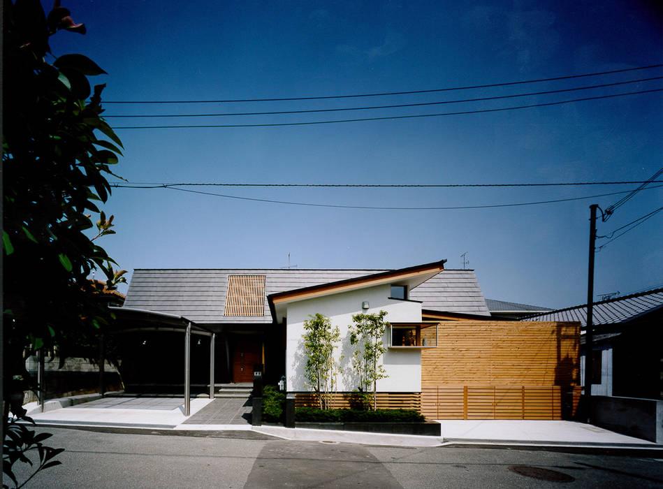 西側外観: 河原泰建築研究室が手掛けた折衷的なです。,オリジナル