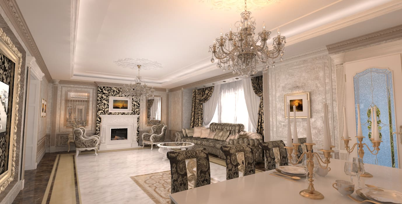Mansion Гардеробная в классическом стиле от Студия Маликова Классический