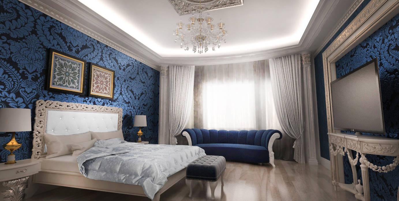 Mansion Спальня в классическом стиле от Студия Маликова Классический