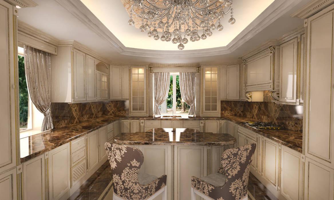 Mansion: Кухни в . Автор – Студия Маликова,