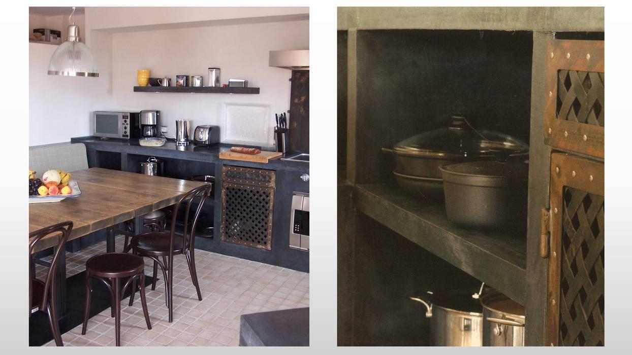 CUISINE - LE CAP D'AGDE: Cuisine de style de style Moderne par ARCHITECTURAL DECO