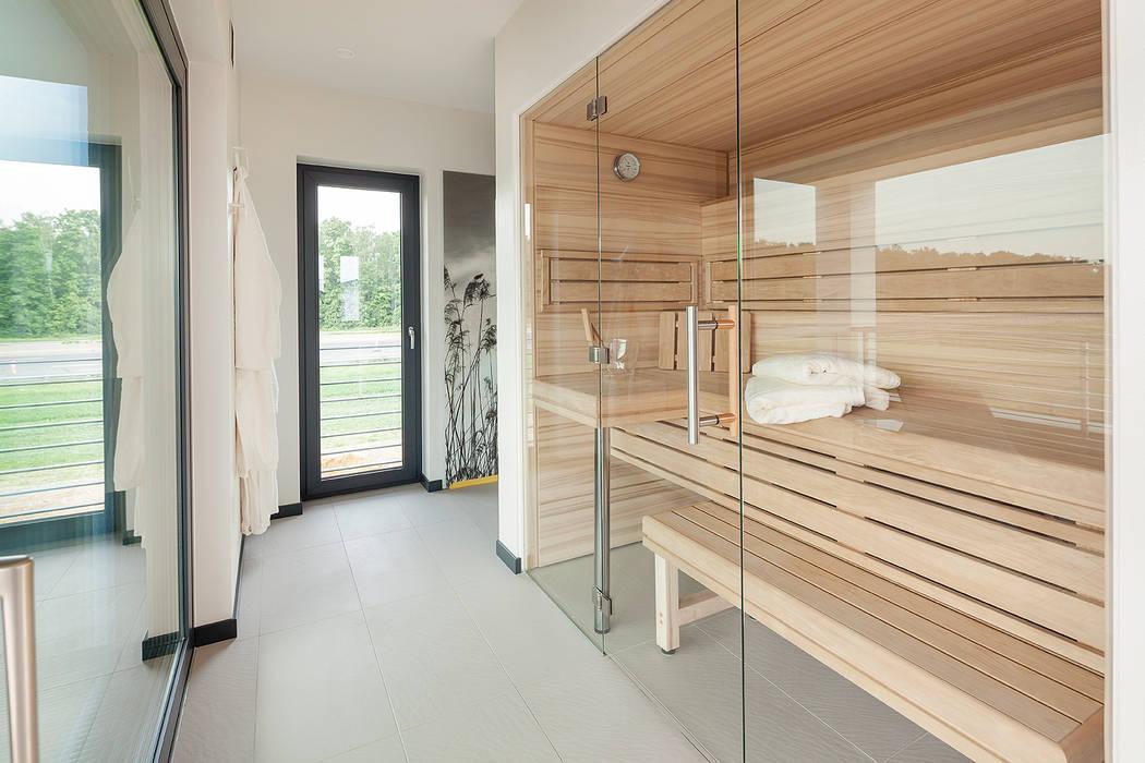 LUXHAUS Musterhaus Köln Moderner Spa von Lopez-Fotodesign Modern