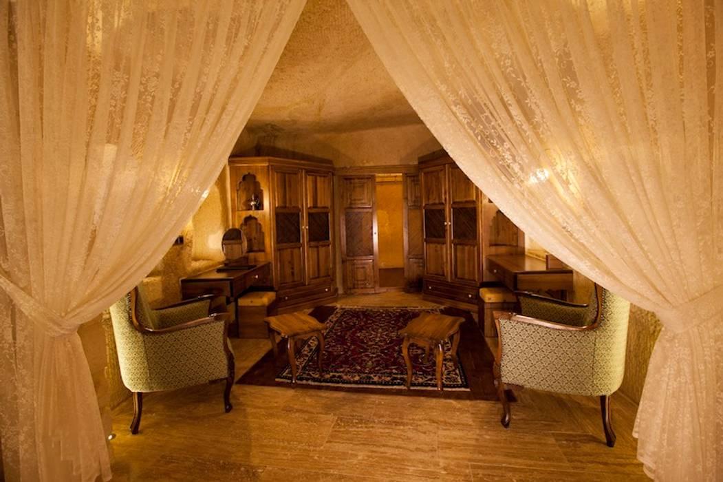 客廳 by Kayakapi Premium Caves - Cappadocia, 田園風