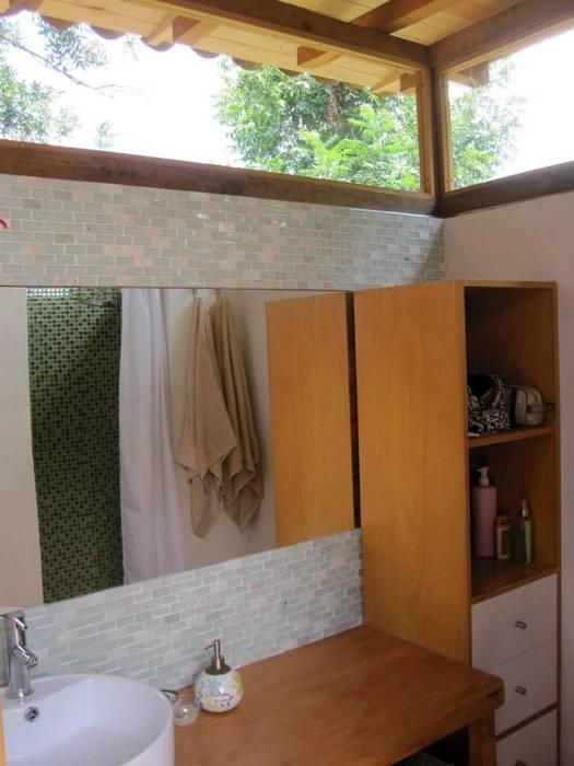 浴室 by MORO TALLER DE ARQUITECTURA, 田園風