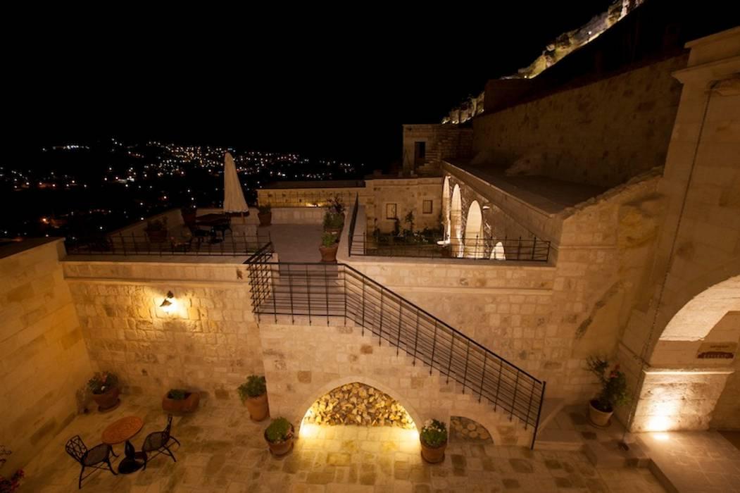 Rustic style house by Kayakapi Premium Caves - Cappadocia Rustic
