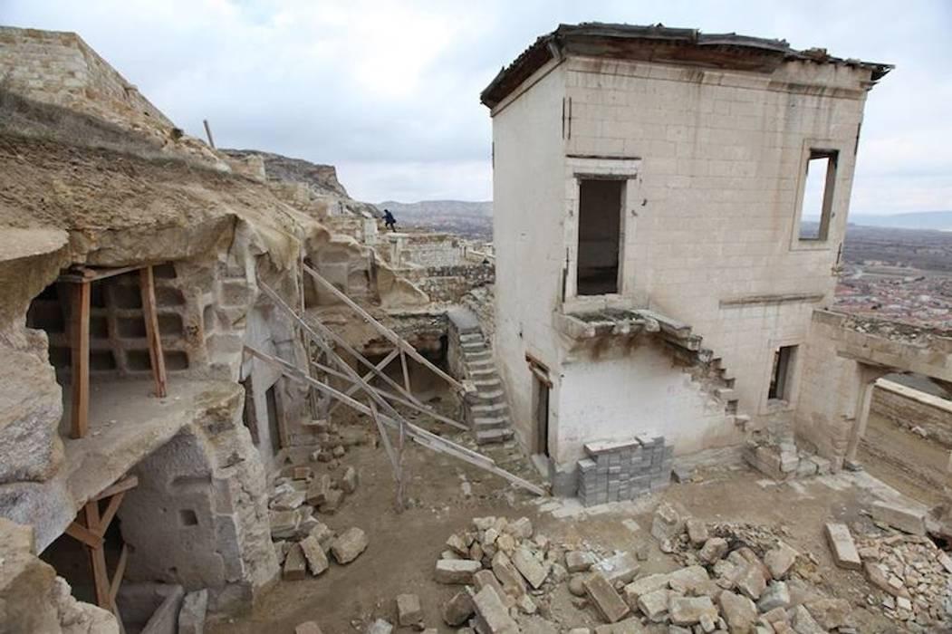 Kuşçular Konağı Öncesi Ve Sonrası Rustik Evler Kayakapi Premium Caves - Cappadocia Rustik