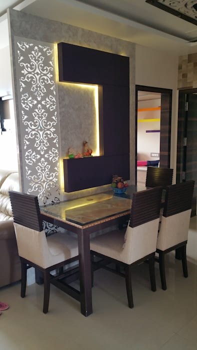 dinning table Modern dining room by Alaya D'decor Modern Plywood