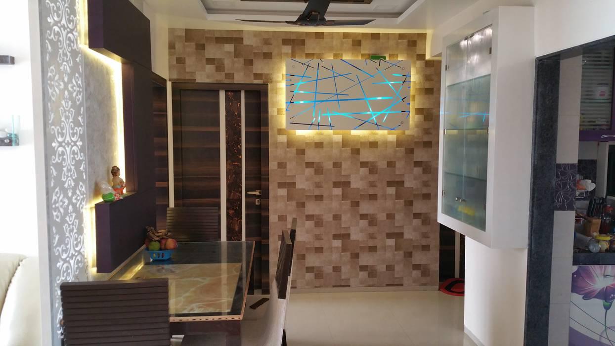 Pasillos, vestíbulos y escaleras modernos de Alaya D'decor Moderno Contrachapado