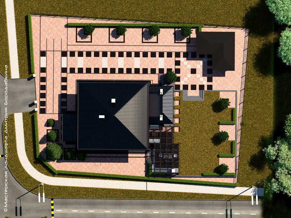 Проект в квадрате: Сады в . Автор – Мастерская ландшафта Дмитрия Бородавкина, Скандинавский