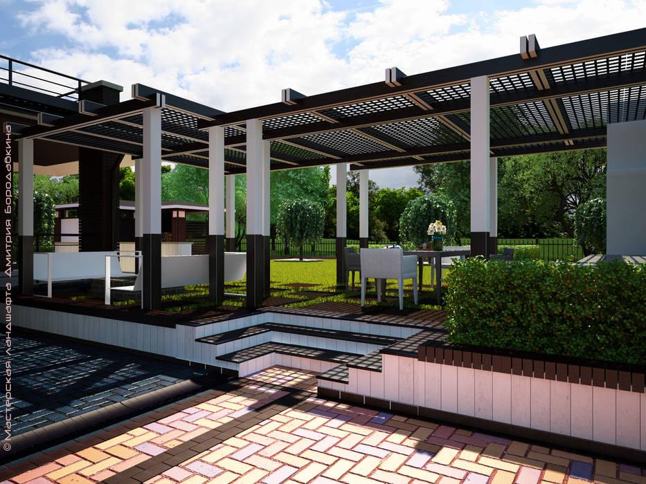 Garten von Мастерская ландшафта Дмитрия Бородавкина, Skandinavisch