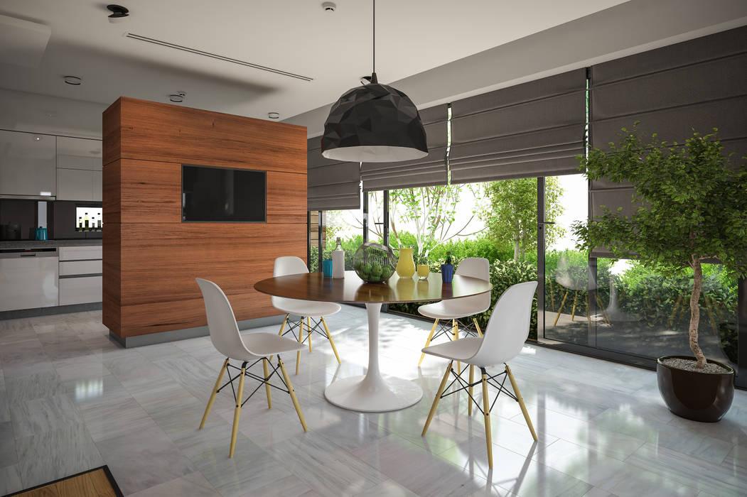 現代廚房設計點子、靈感&圖片 根據 BUUN MOTTO ARCHITECTS 現代風