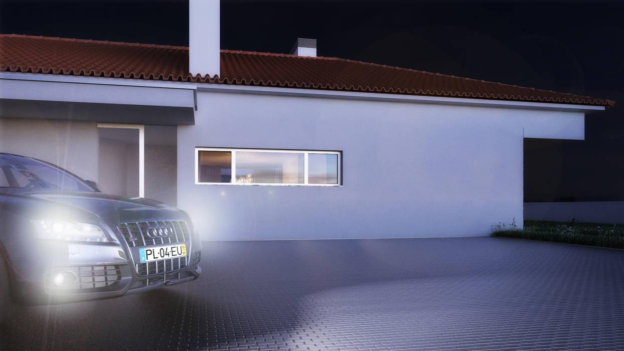 Casa AA: Casas  por Rúben Ferreira | Arquitecto,