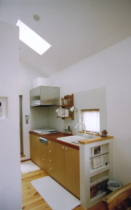 九間町の家 モダンな キッチン の 株式会社 atelier waon モダン
