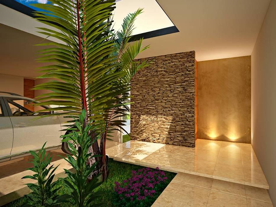Modern corridor, hallway & stairs by TOAR INGENIERIA Y DISEÑO Modern