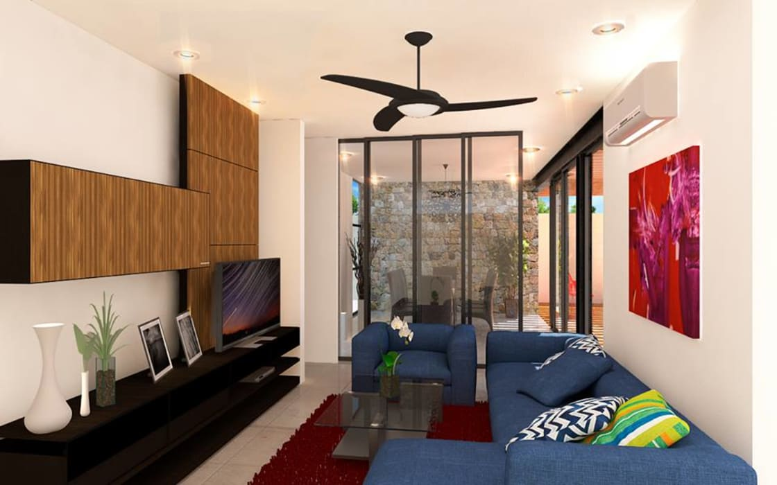 Modern living room by TOAR INGENIERIA Y DISEÑO Modern