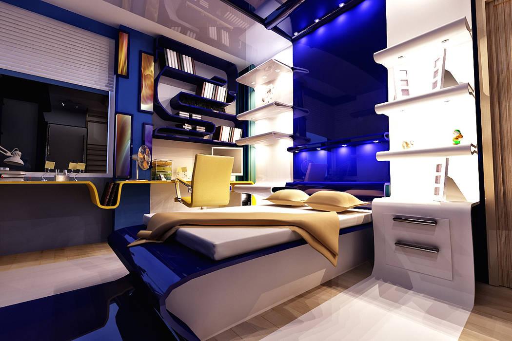 Mrs. Ayşe's village Modern Çocuk Odası HePe Design interiors Modern