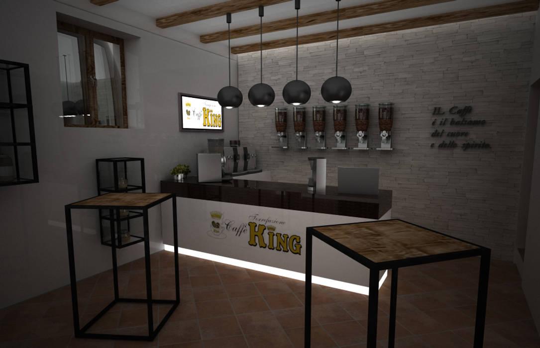 shop: Negozi & Locali commerciali in stile  di 3d Creative Solution