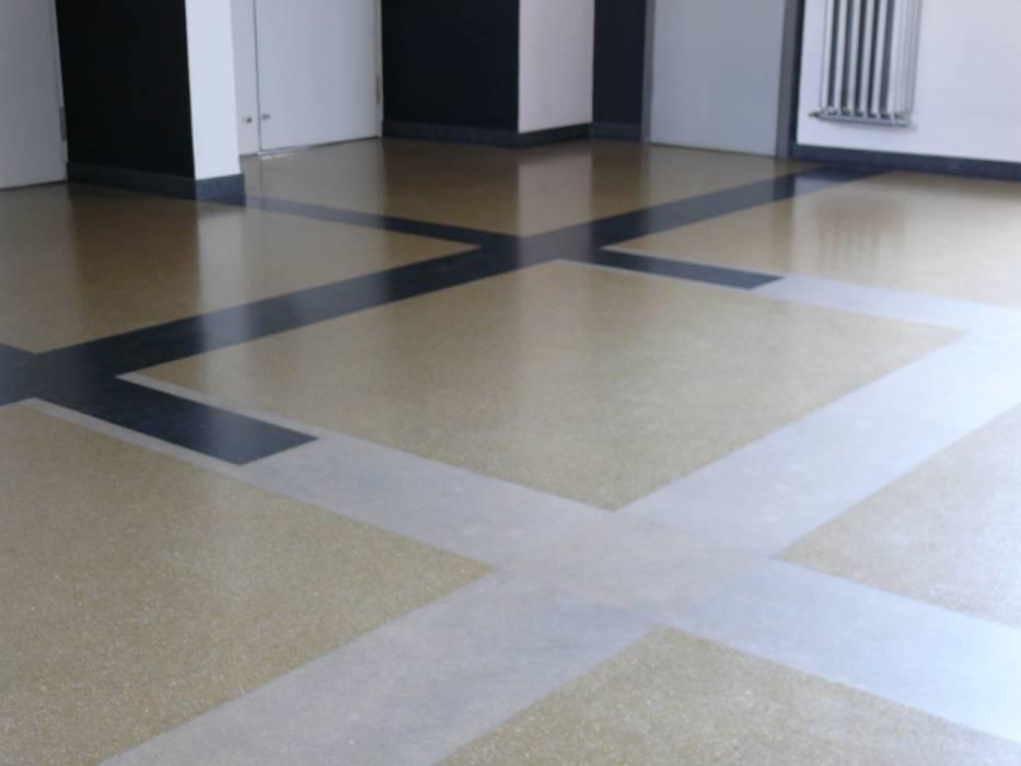 Fußboden Aus Beton ~ Fussboden im bauhaus dessau detail : wände von leosteen steinholz