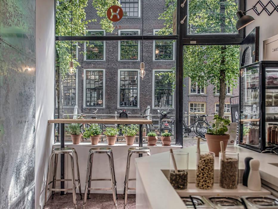Haka Pure Salad Bar Design Studio Nu Industriële gastronomie Wit
