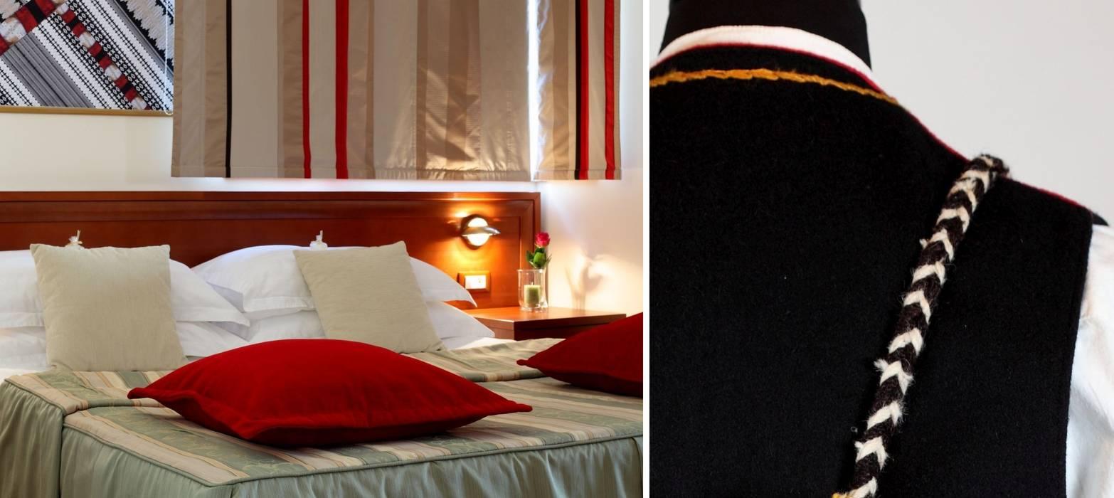 Chambre familiale: Hôtels de style  par Sanabel Decor