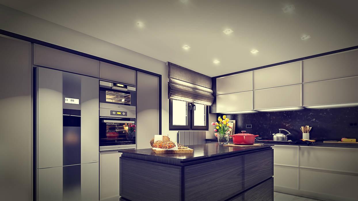 Kitchen by De I Studio - 3D Mimari Görselleştirme ve Animasyon Hizmetleri