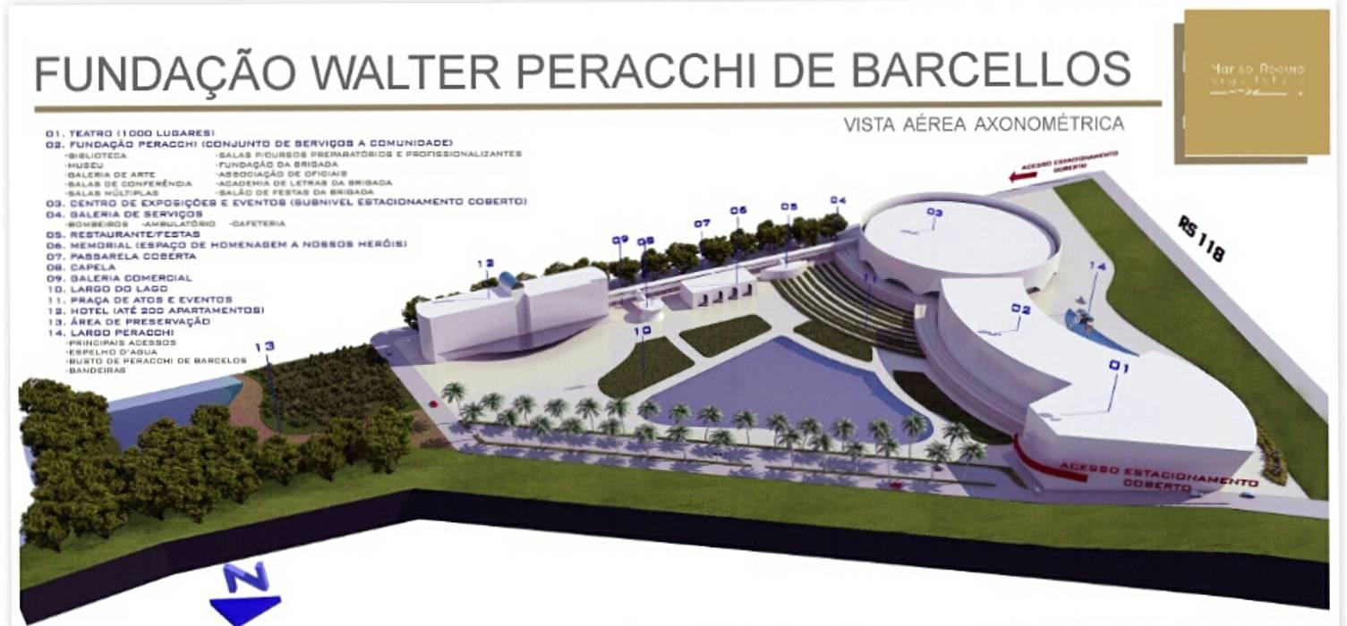 Centro Cultural Walter Peracchi de Barcellos Centros de exposições modernos por Marisol Réquia Arquitetura Moderno
