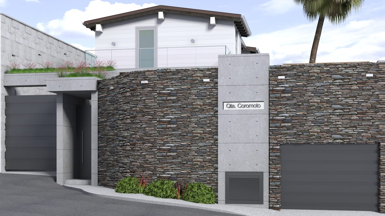Houses by Gabriela Afonso, Modern Stone