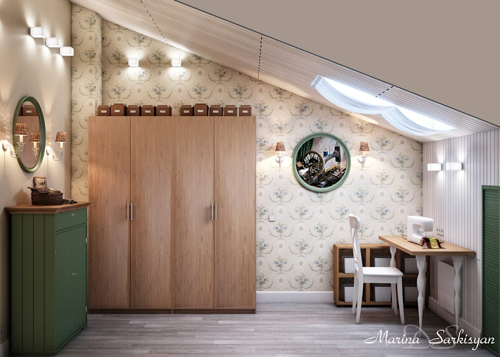 Country style gym by Marina Sarkisyan Country