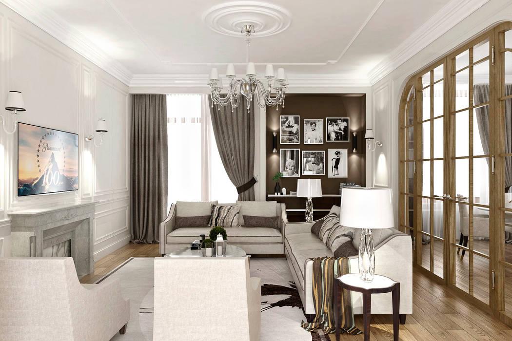 Klassische Wohnzimmer von ONE STUDIO Klassisch