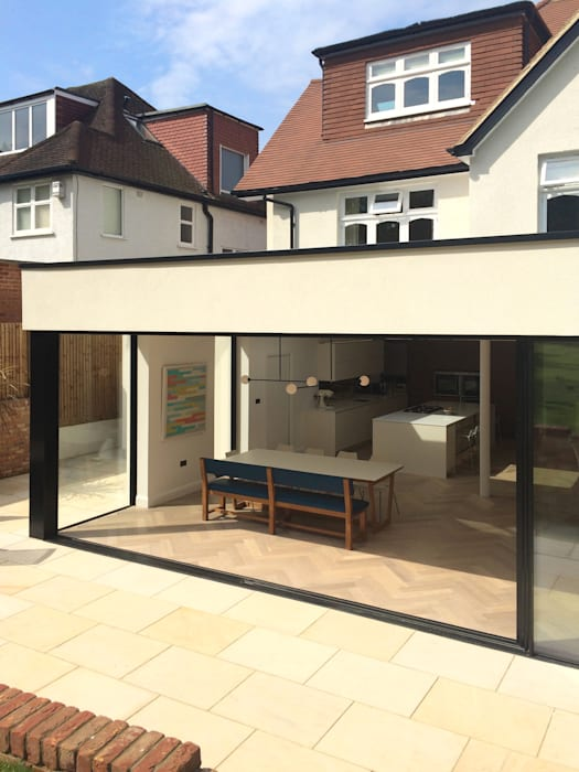 East Finchley Puertas y ventanas modernas de IQ Glass UK Moderno