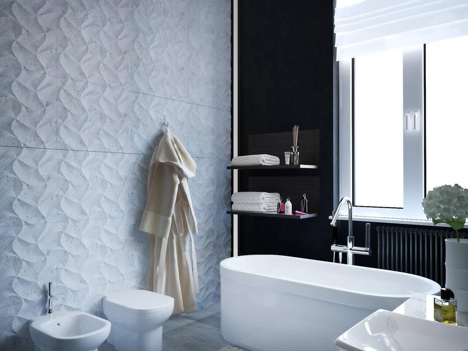Baños de estilo minimalista de ONE STUDIO Minimalista