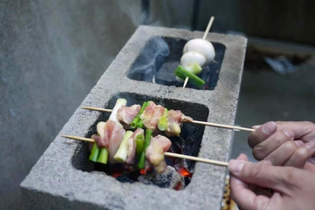 Jara y Olmo S.L Garden Fire pits & barbecues Bricks Grey