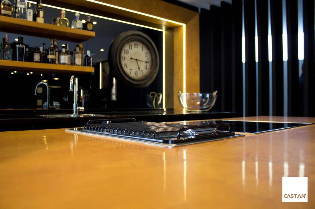 Espaço de degustação Cozinhas modernas por Castan Moderno