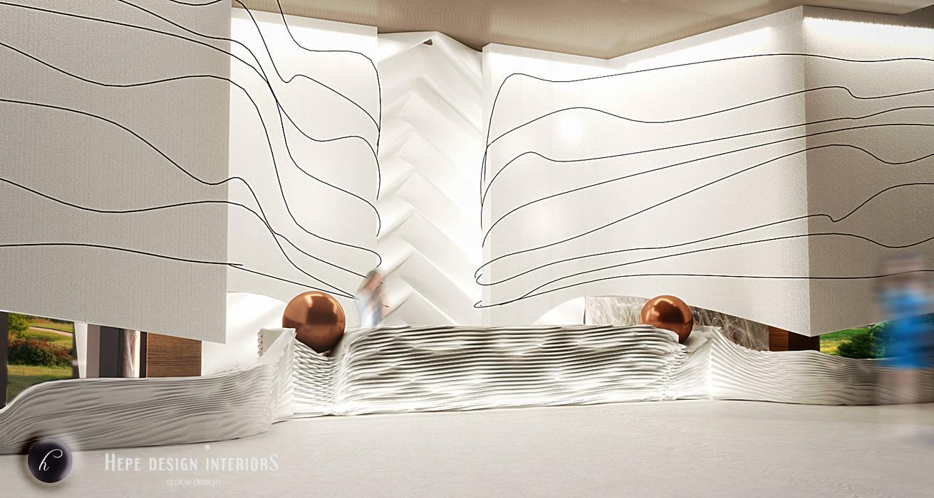 Recreation Project - 5star Hotel in İstanbul Modern Oteller HePe Design interiors Modern Mermer