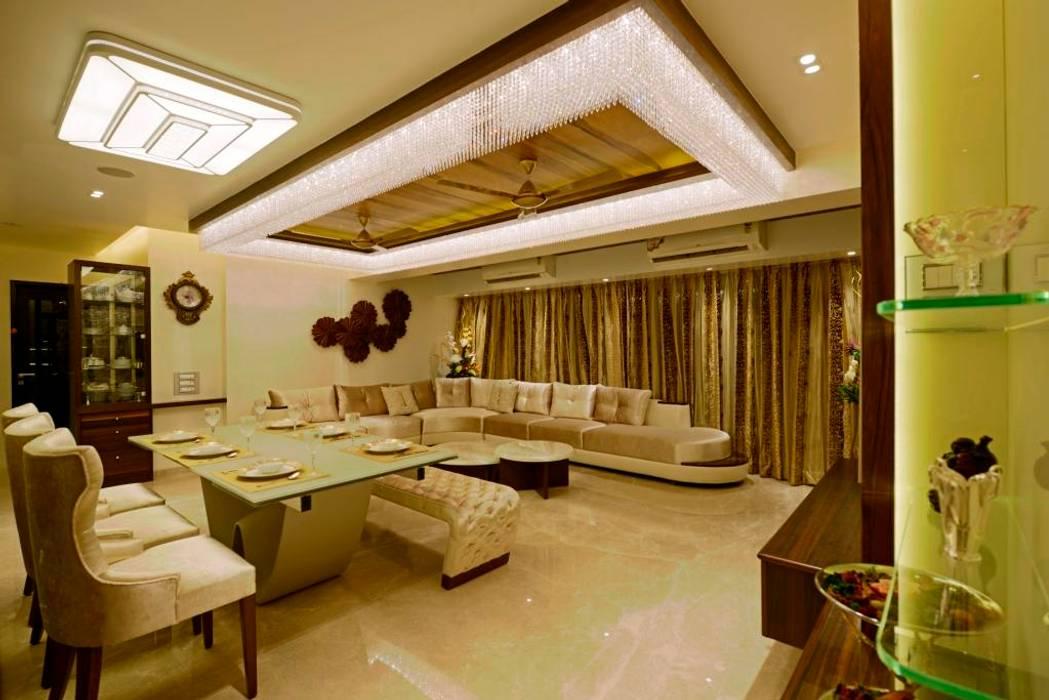 Phòng khách theo AIS Designs, Hiện đại