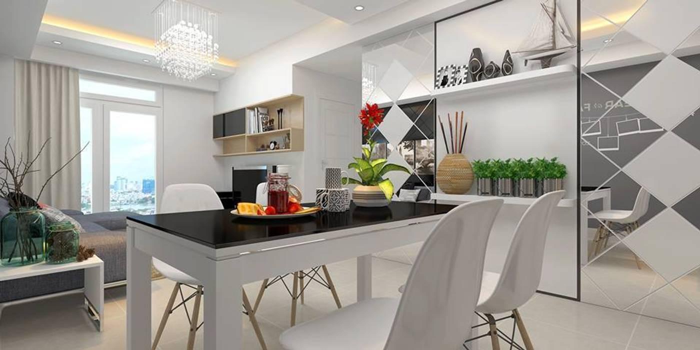 Comedor de estilo  de Creazione Interiors