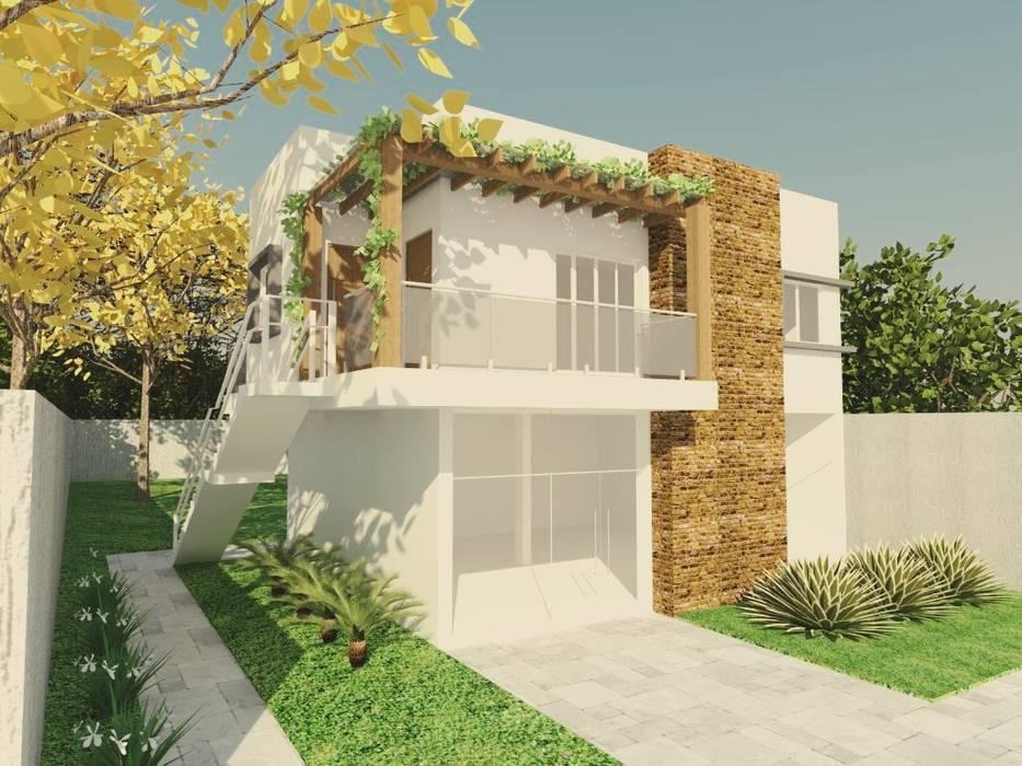 Modern houses by homify Modern Bricks