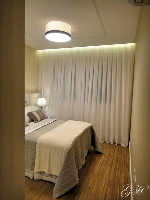 Suite masculina Quartos modernos por Gabriela Herde Arquitetura & Design Moderno