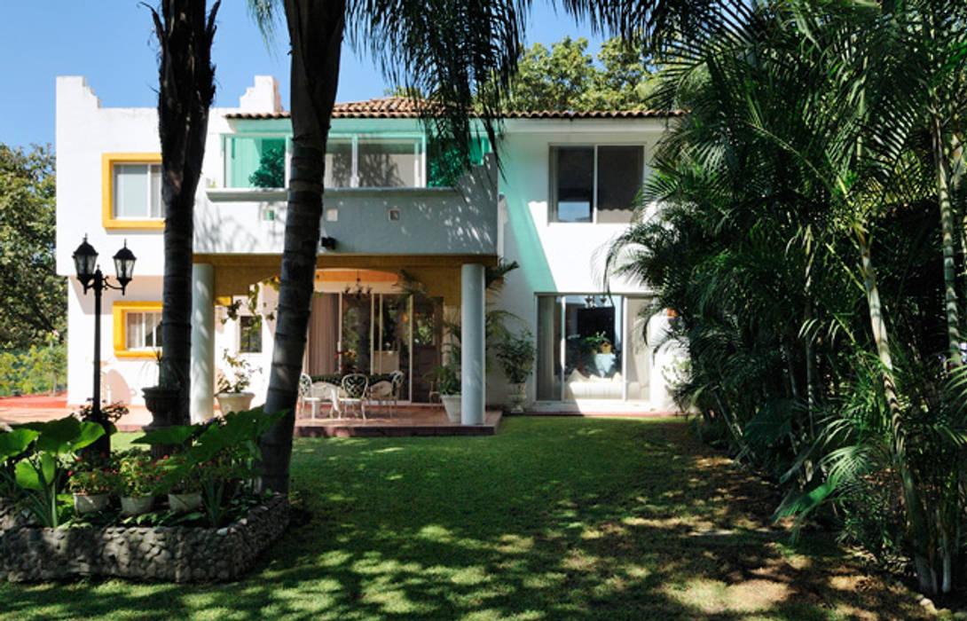 terraza Casas coloniales de Excelencia en Diseño Colonial Ladrillos