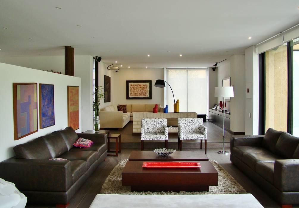 Livings de estilo moderno de David Macias Arquitectura & Urbanismo Moderno