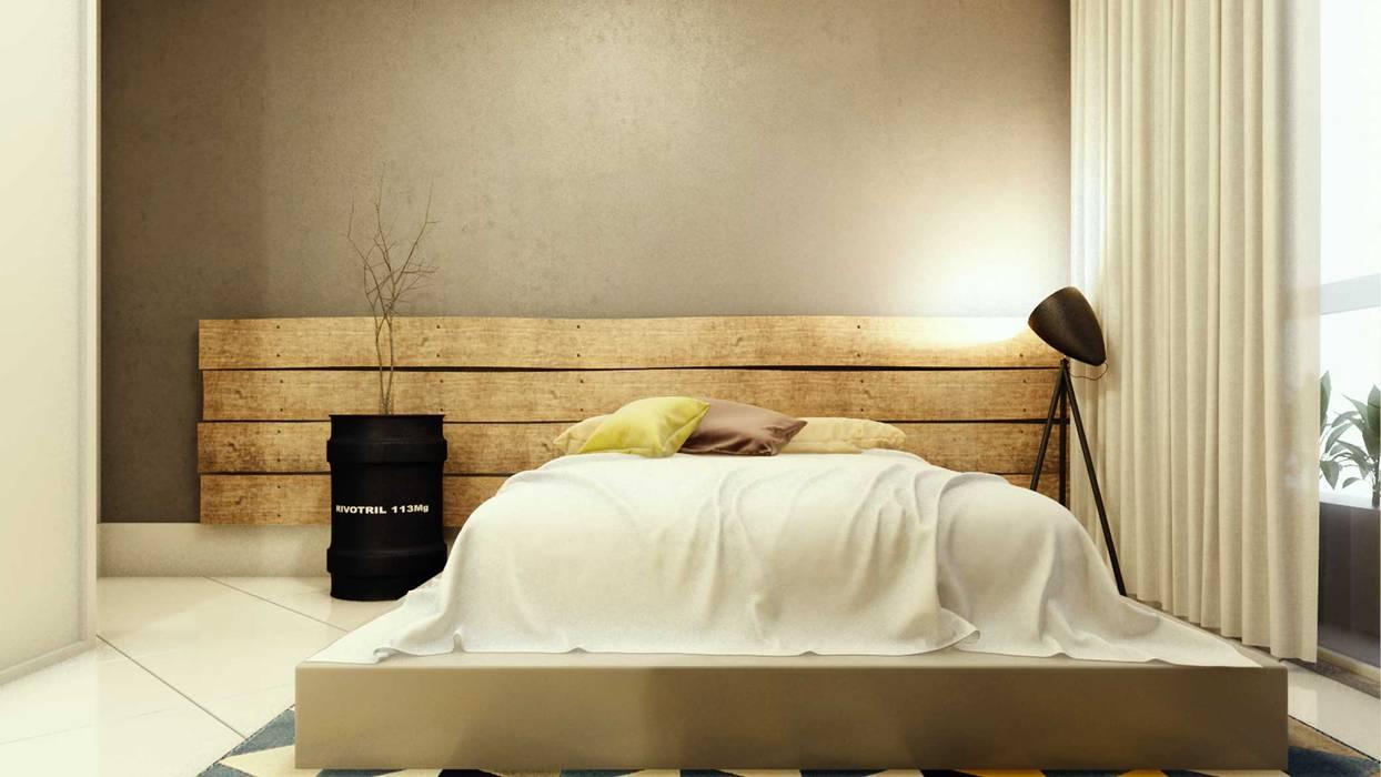 Camera da letto in stile di fpr studio | homify