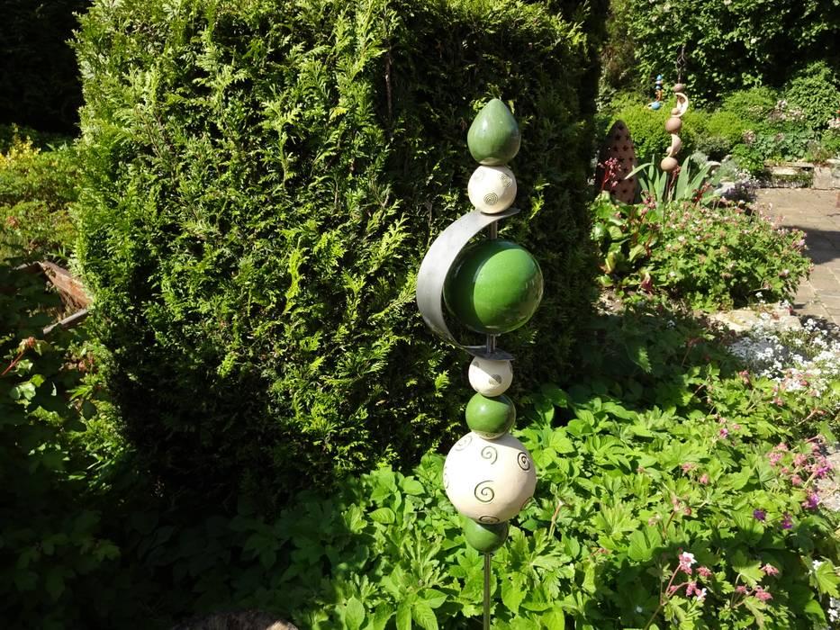 Gartenstecker-gartendeko ausgefallener garten von carolas ...