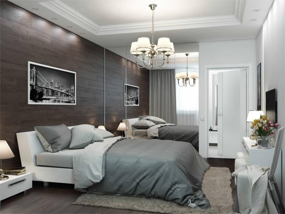 Private apartments Частная квартира площадью 72 кв.м. من Rosso حداثي