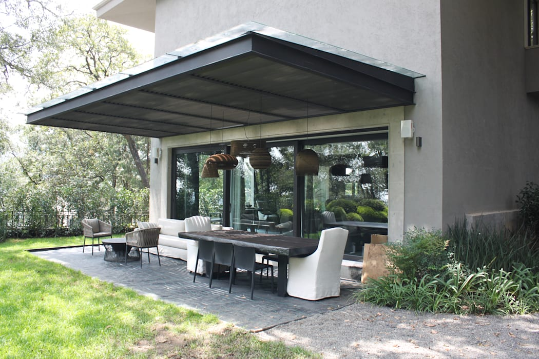Terraza Balcones y terrazas de estilo moderno de Windlock - soluciones sustentables Moderno