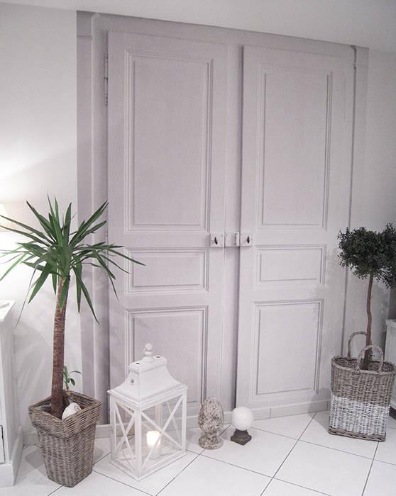 Papier Peint Trompe L Oeil Double Porte Murs Sols De Style Par