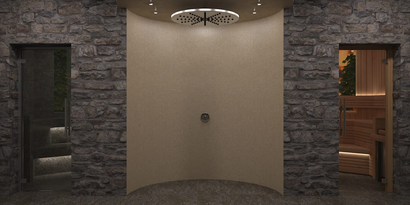 Steam and Sauna Design & Installation. โดย Nordic Saunas and Steam โมเดิร์น