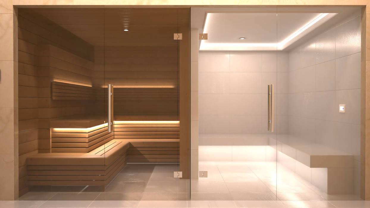 Steam and Sauna Design & Installation. by Nordic Saunas and Steam Modern