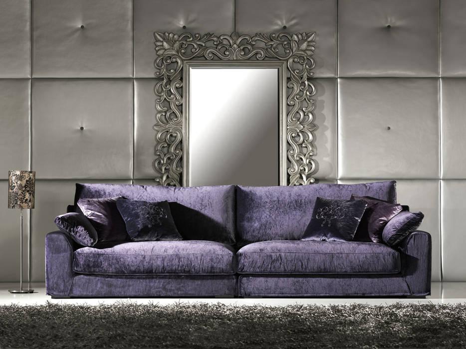 modern  oleh Intense mobiliário e interiores;, Modern Tekstil Amber/Gold