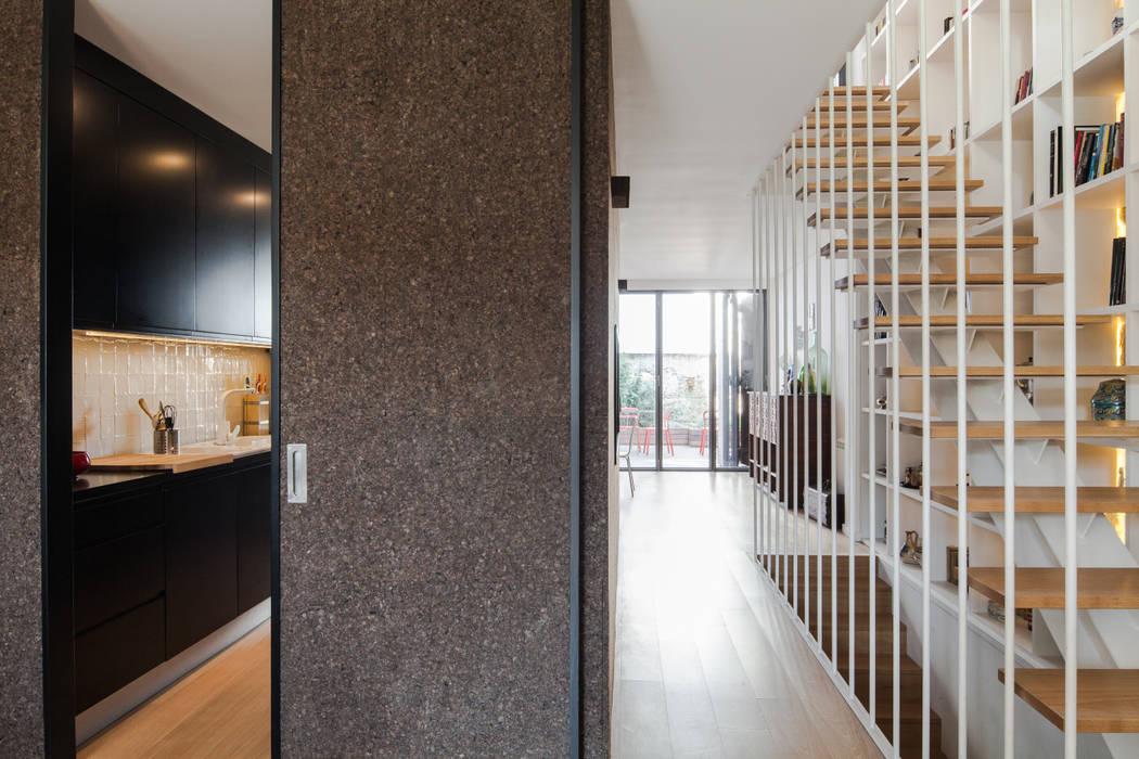 Casa Cedofeita Salas de estar modernas por Floret Arquitectura Moderno